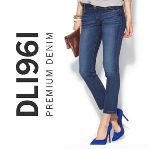 DL 1961 Toni Hi-Rise Cropped Jeans in Bryant NWT